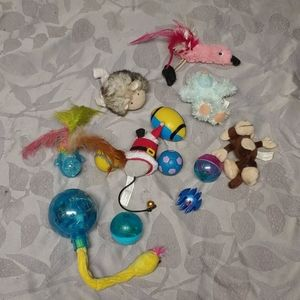 Cat Toys Variety Lot of 13
